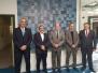 21/2/2018 Επίσκεψη προέδρου WKF στον Κυπριακό Οργανισμό Αθλητισμού με τον πρόεδρο κ.Κλεάνθη Γεωργιάδη και αντιπρόεδρο κ.Δημήτρη Λεοντή