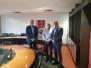 20/2/2018 Επίσκεψη προέδρου wkf στον πρόεδρο του πανεπιστημίου Λευκωσίας Δρ. Νίκο Καρτακούλλη