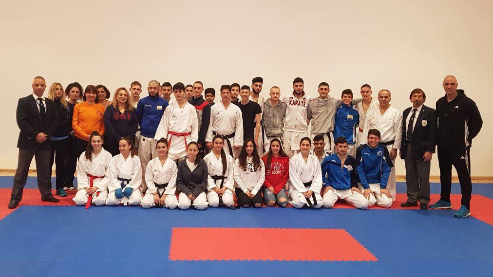 National Karate Teams preparation with Israel National Team