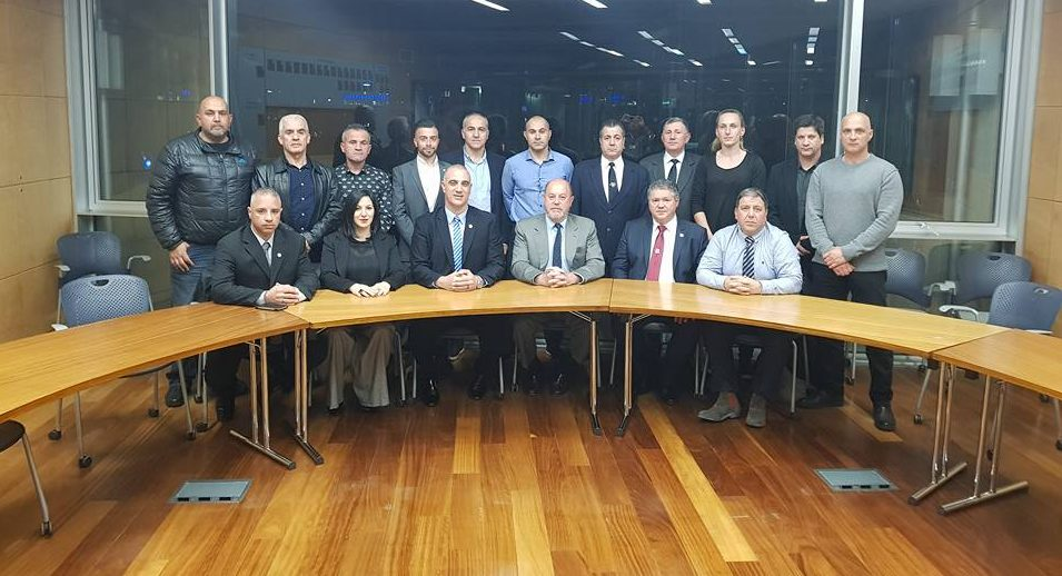 Official visit of the President of the European & World Karate Federation