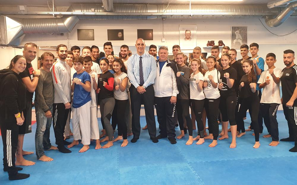 Αγώνες Μικρών Κρατών Ευρώπης Καράτε, Ρέικιαβικ Ισλανδία 2019