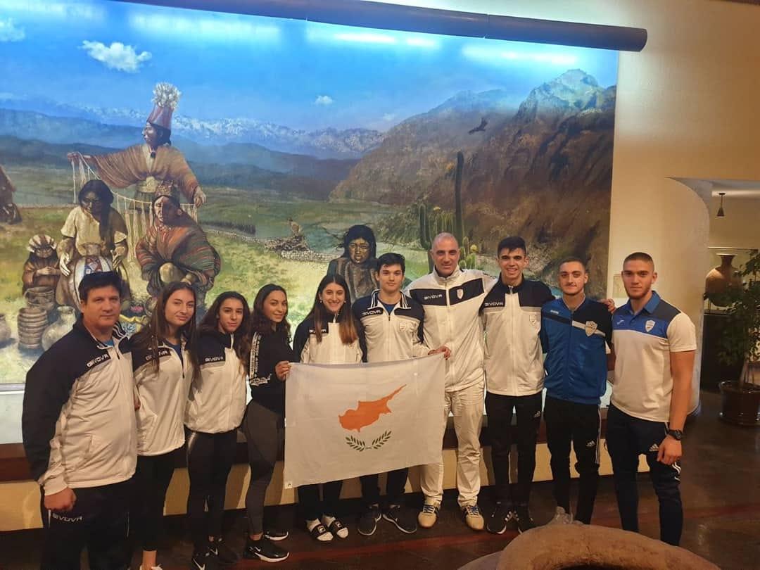 Μεγάλη επιτυχία της εθνικής ομάδας καράτε στο παγκόσμιο πρωτάθλημα στο Σαντιάγο της Χιλής.